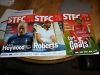 3 Collectors 2004-5 Swindon Town Football Programmes