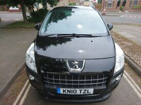 2010 Peugeot 3008 -Mot until 26/06/19- 2 owners from new- low mileage.