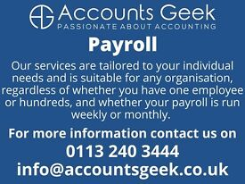 Payroll services for businesses - Starting from ONLY £5.00 per month