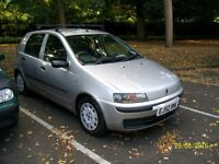 Automatic for £495. Fiat Punto 1.2 5dr Auto. 2003. Silver. MOT to 28/2/17