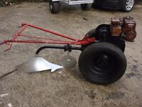 for sale tractor villiers plougs engine 3hp petrol very good condition