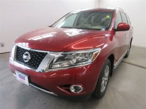 2013 Nissan Pathfinder SL! 4X4! EXT WARR! B-UP CAM! ALLOYS! LEAT