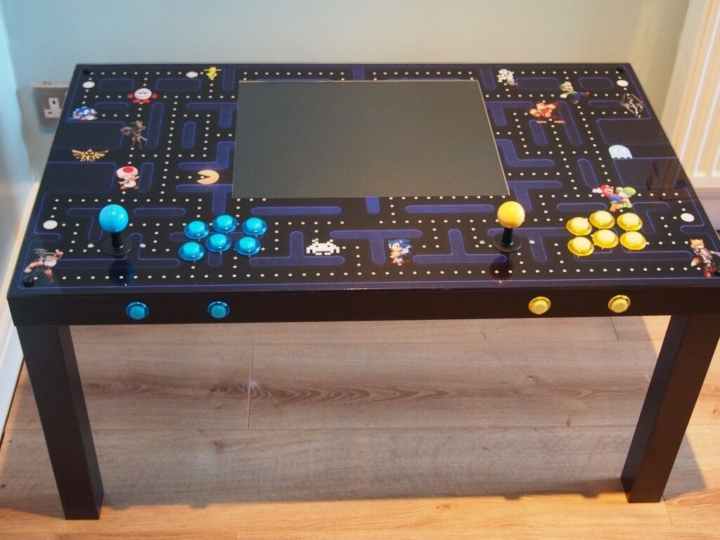 Arcade Coffee Table.2 Player Arcade Coffee Table With Built In Screen Games In Tingley West Yorkshire Gumtree