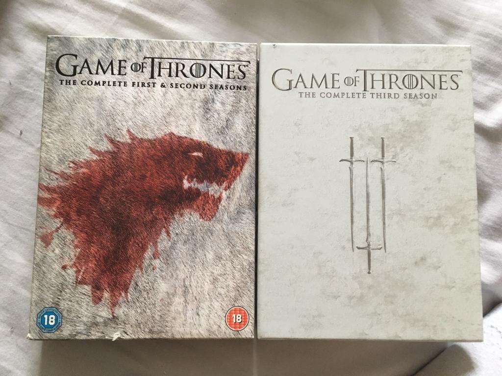 Game of thrones DVD boxsets | in Aberdeen | Gumtree