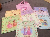 Princess Poppy Children'sr Books - collection of 8 in carry bag