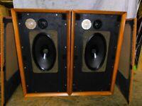 VINTAGE B&W DM3 SPEAKERS SOUND SUPERB HI-FI .