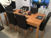 Extending Table and chairs ,,,,,,,,,,,,,,, Can Collect Now ....................