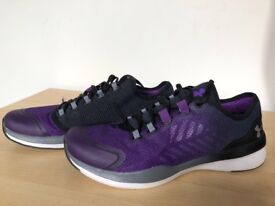 Almost New UA Charged Push Training Trainers