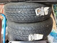 Pair of Monza Tyres (unused)