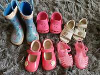 Girls shoes size 3 & 4
