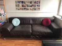 Lovely leather sofa needs new home