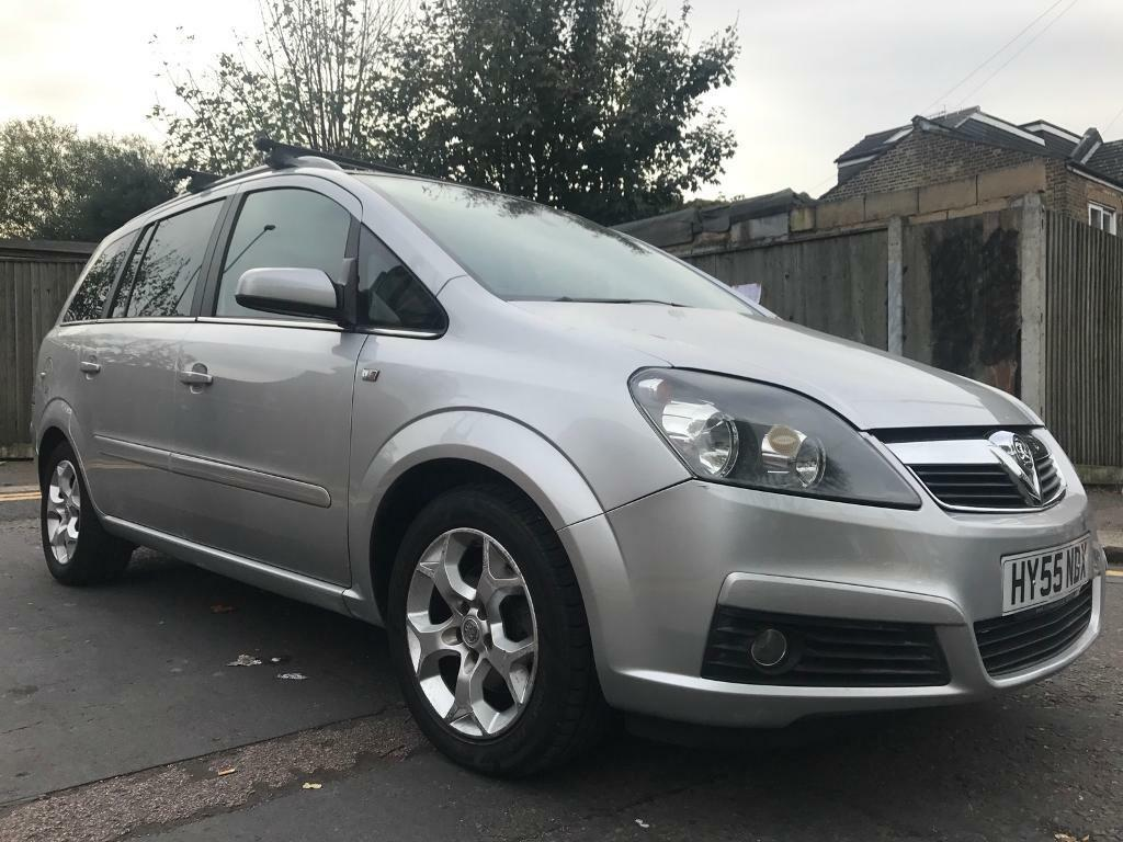 Vauxhall Zafira 1 8 Manual 7 Seater Same Owner From New