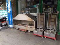 CATERING COMMERCIAL USED DONER KEBAB MACHINE CAFE RESTAURANT BBQ KITCHEN BAR
