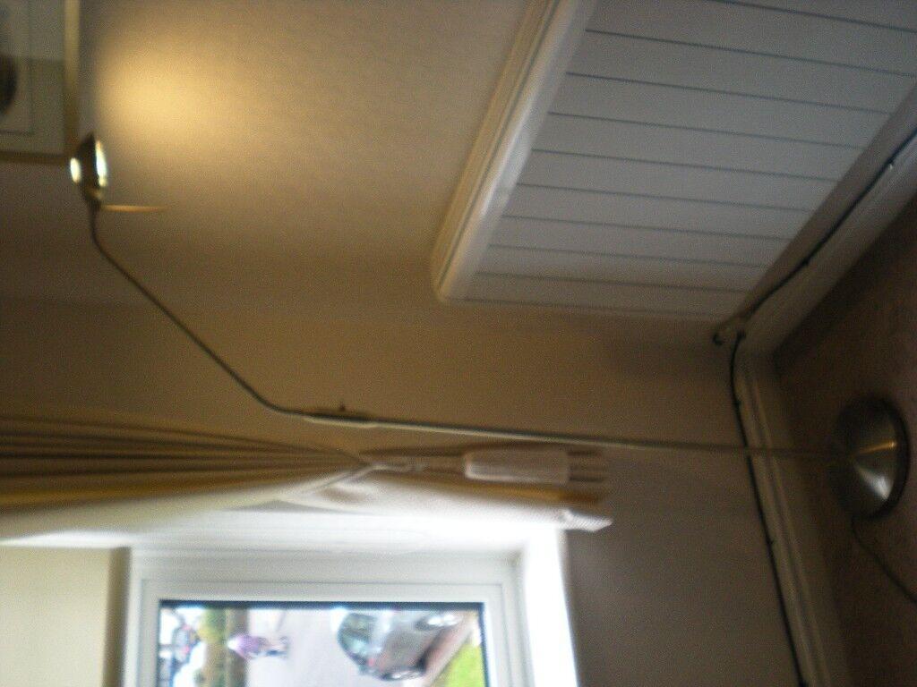 Floor Lamp from John Lewis - Antique Brass - Adjustable Stem ...