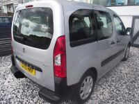 Peugeot Partner Tepee 1.6 Wheelchair accessible only 39k miles FDSH Part exchange possible