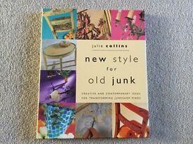 New Style for Old Junk Book by Julie Collins