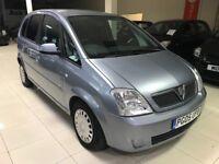 Vauxhall meriva 1.4 12 months mot hpi clear drives superb cheap tax and insurance