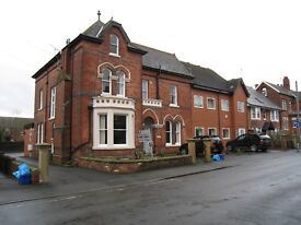 Chesterfield, Fully Furnished Two Bedroom Ground Floor Flat close to Town Centre.
