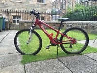 Giant XTC Kids Mountain Bike - very rarely used, excellent condition.