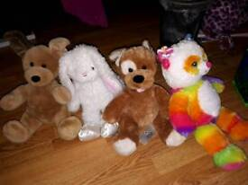 Build a Bear Bundle with 7 outfits