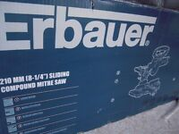 Erbauer sliding compound meter saw