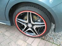 "GENUINE MERCEDES BENZ 18"" AMG ALLOY WHEELS X4 for A-B-CLA- CLASS"