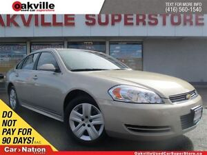 2011 Chevrolet Impala LS | ONLY 56, 545KM's | ALLOY WHEELS | CRU