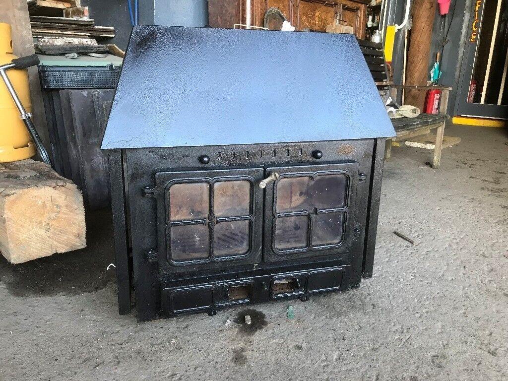 Hunter wood burning stove