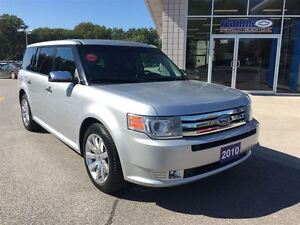 2010 Ford Flex Limited Leather Sunroof Chrome Wheels Windsor Region Ontario image 3