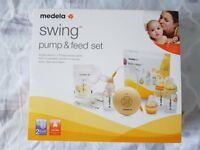 medela swing maxi breast pump set (RRP £144.99)