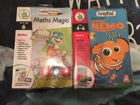 New leap pad games
