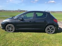 """FOX 16"""" INCH RACING ALLOY WHEELS SET OF 5 INCLUDING SPARE VERY GOOD TYRES FIT PEUGEOT 207 PLUS MORE"""