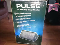 Pulse two way stage Monitor speaker