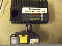 PANASONIC CHARGER +18V BATTERY