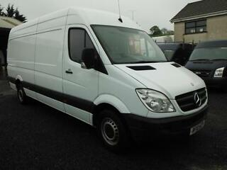 2010 mercedes lwb  high roof van  model 313 91000 miles v clean + vat