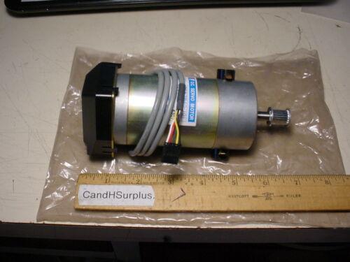Japan Servo #DS57B40-101 DC Servo motor with optical encoder.  1800 RPM