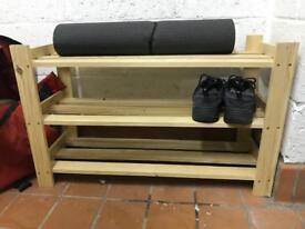 3 shelves shoes rack by Ikea