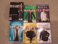 House MD DVD Box Sets Seasons 1-8