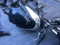 Honda pcx 2015 part black