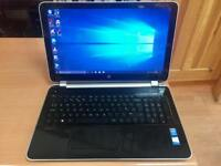i3 6GB Ram Fast Like New HP HD Pavilion Laptop 1TB(1000GB)Window10,Microsoft office,Ready to use