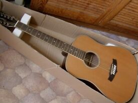 tanglewood 12 string electro solid top