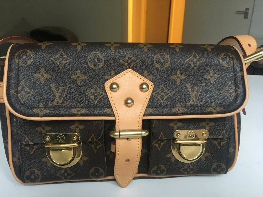 6efc385a464 Vintage Louis Vuitton handbag - Monogram Hudson PM shoulder bag in perfect  condition
