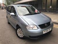 Volkswagen Touran 1.6 S 5dr 2006 (7 Seats) CALL 07479320160