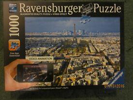 Ravensburger 1000 pc Paris Puzzle Augmented Reality (new)