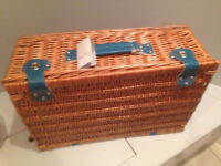 MissPrint 4 Person Picnic Basket