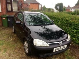 Vauxhall corsa 1.4sri *price reduced