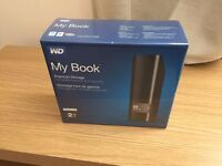 Western Digital 2TB External Hard Drive My Book Brand New & Sealed