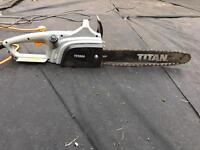 Titan electric chain saw
