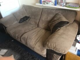 Sofa bed & matching chair