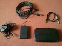 Shure PG4 wireless guitar system
